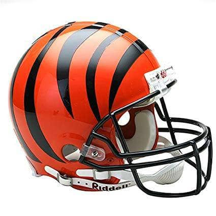 PRE-SALE: Tyler Boyd Signed Bengals Regular Full Size Helmet