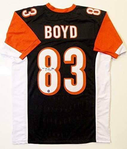 PRE-SALE: Tyler Boyd Signed Custom Pro Black Jersey