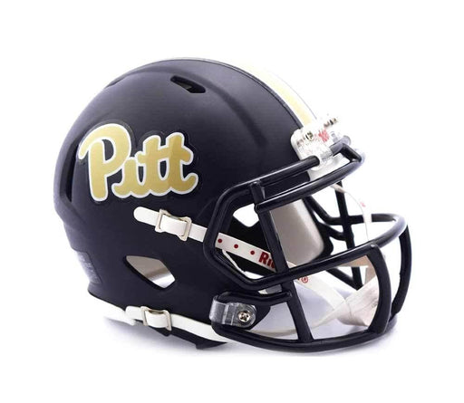 PRE-SALE: Tyler Boyd Signed PITT Navy SPEED Mini Helmet
