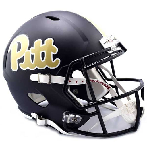 PRE-SALE: Tyler Boyd Signed PITT Navy SPEED Replica Full Size Helmet