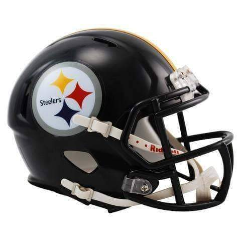 PRE-SALE: Zach Gentry Signed Pittsburgh Steelers Black Mini SPEED Helmet