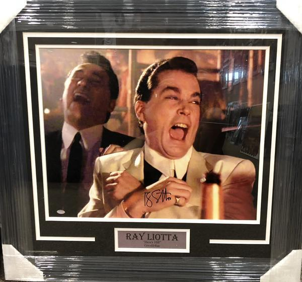 Ray Liotta Signed 16x20 Goodfellas Photo Professionally Framed