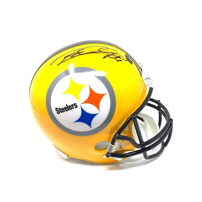 Rod Woodson Autographed Full-Size 75th Ann. Replica Helmet