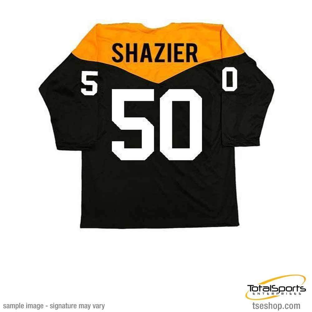 325216a3208 Signed STEELERS Jerseys Ryan Shazier Autographed  67 Throwback Custom Jersey