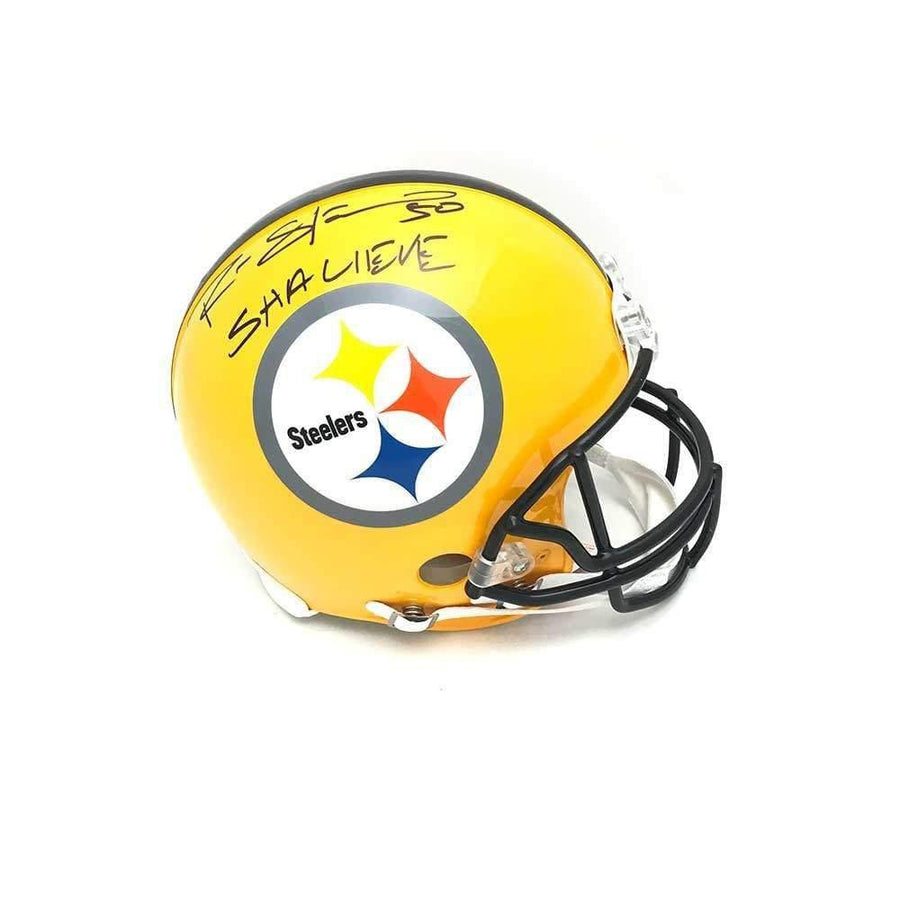 Ryan Shazier Autographed Full Sized Authentic 75th Anniv. Helmet with Shalieve