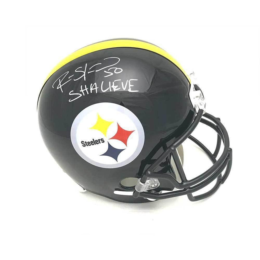 Ryan Shazier Autographed Full Sized Replica Helmet with Shalieve