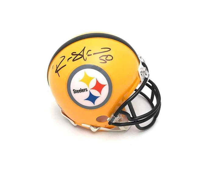 Ryan Shazier Autographed Pittsburgh Steelers 75th Anniversary Mini Helmet