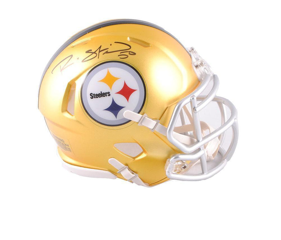 Ryan Shazier Autographed Pittsburgh Steelers BLAZE Mini Helmet