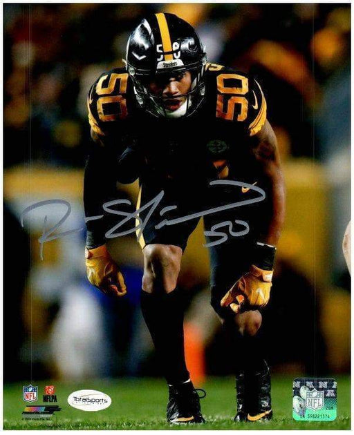 Ryan Shazier Autographed Ready Stance in Color Rush 16x20 Photo