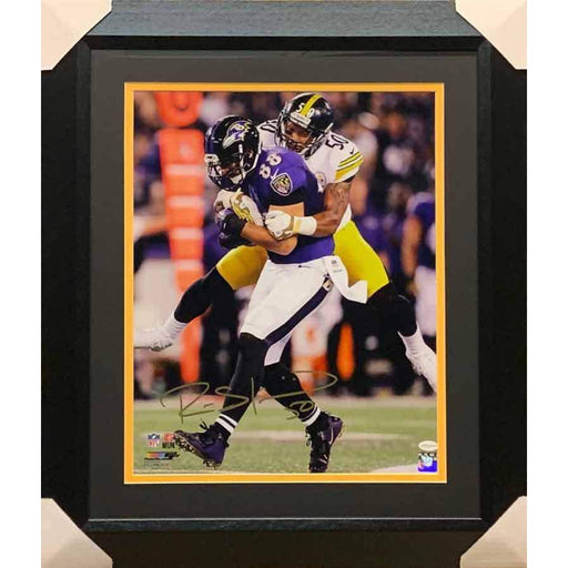 Ryan Shazier Autographed Tackling Ravens 16x20 Photo - Professionally Framed