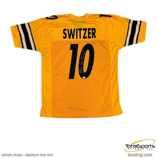Ryan Switzer Autographed Custom Reversed Jersey