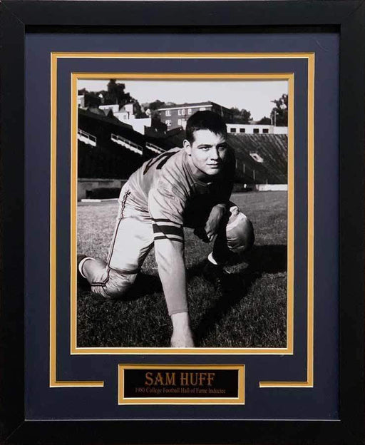Sam Huff Unsigned Ready 8x10 Photo - Professionally Framed