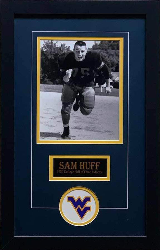 Sam Huff Unsigned Running 8x10 Photo - Professionally Framed