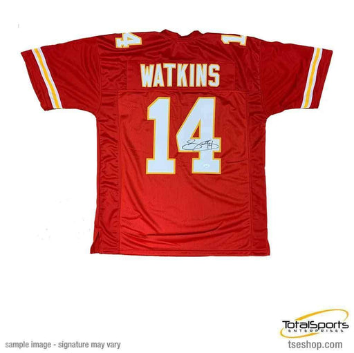 Sammy Watkins Signed Custom Red Jersey with SB 54 Champs
