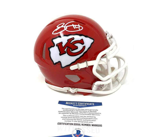 Sammy Watkins Signed Kansas City Chiefs Red Super Bowl 54 Speed Mini Helmet