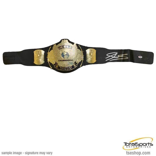 SHEAMUS Signed Replica Winged Eagle Hasbro Championship Belt (As Is)