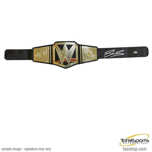 SHEAMUS Signed Replica WWE Hasbro Championship Belt (As Is)