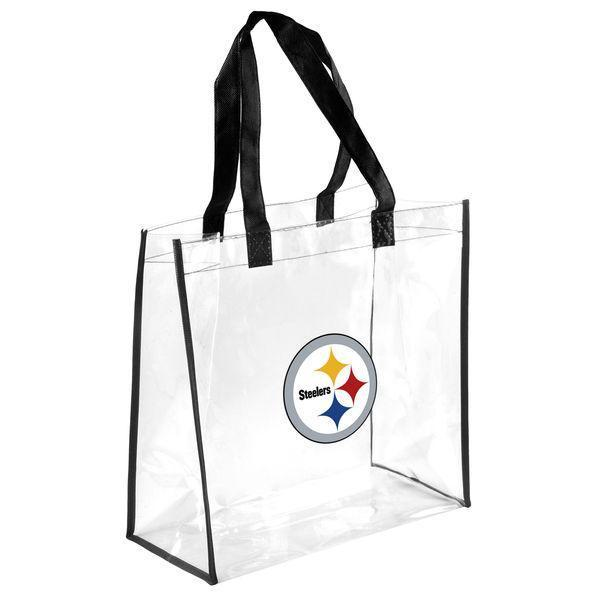 Steelers Clear Plastic Stadium Bag