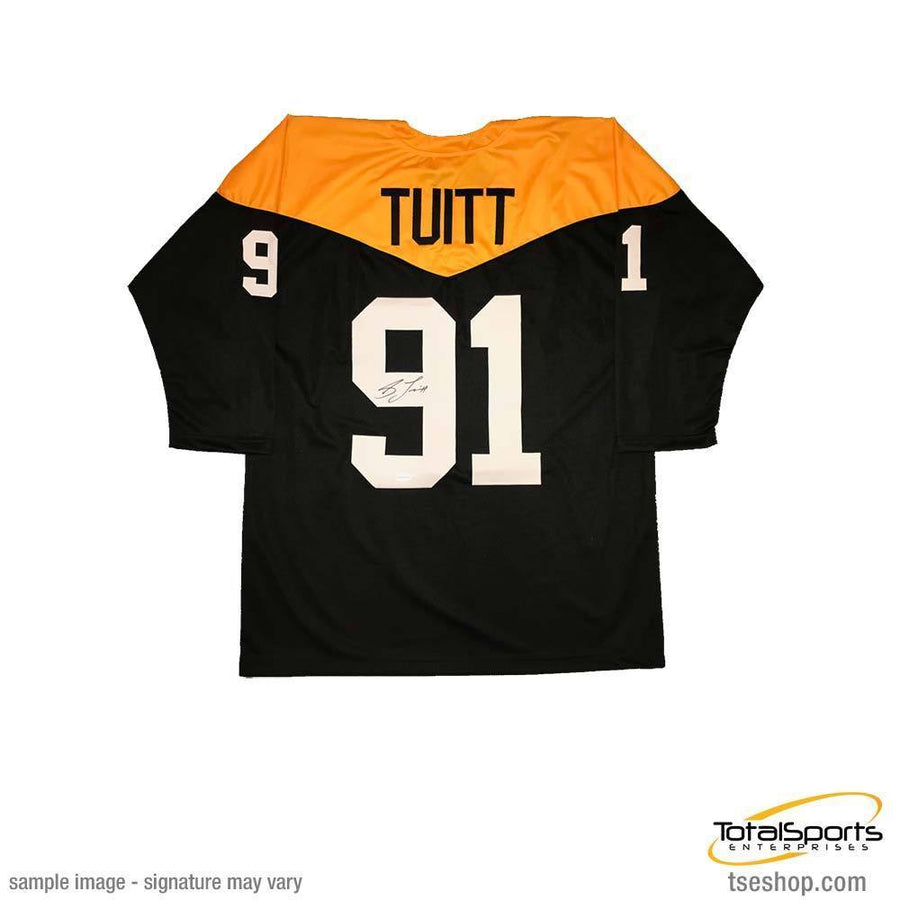 Stephon Tuitt Autographed Custom 1967 Throwback Jersey