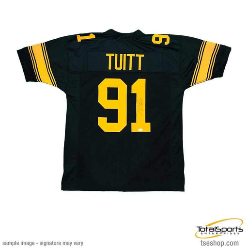 Stephon Tuitt Autographed Custom Holiday Jersey