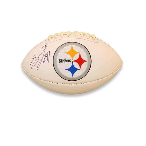Stephon Tuitt Autographed Pittsburgh Steelers White Football