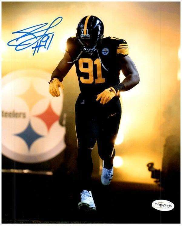 Stephon Tuitt Signed Entrance in Color Rush Signed 16x20 Photo Default Title