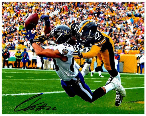 Steven Nelson Signed Blocking Pass Vs. Baltimore 8X10 Photo