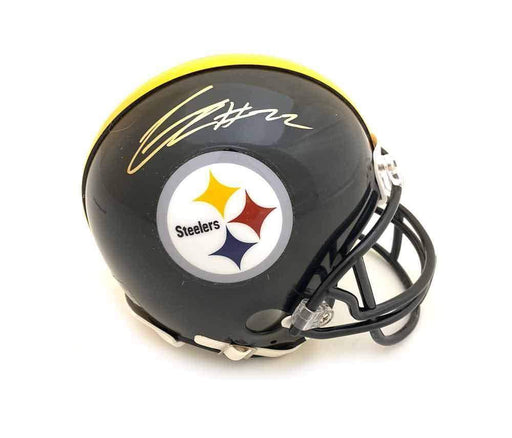 Steven Nelson Signed Pittsburgh Steelers Black Mini Helmet