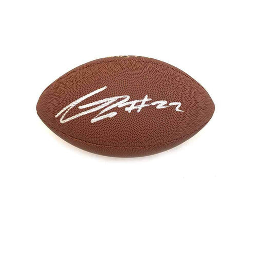 Steven Nelson Signed Wilson Replica Football