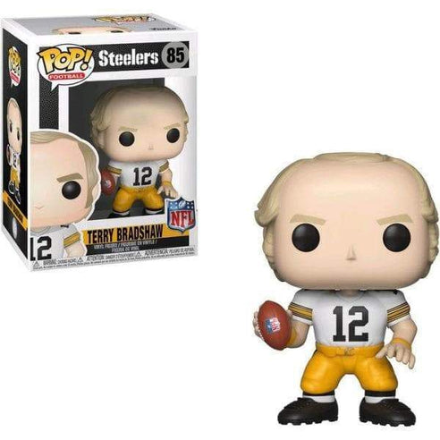 Terry Bradshaw Funko Pop! Figure in White Jersey