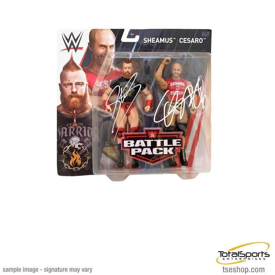 THE BAR DUAL Signed Action Figure Set