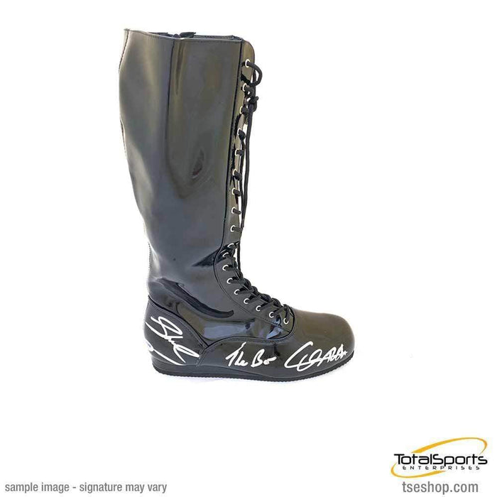 THE BAR DUAL Signed Black Boot