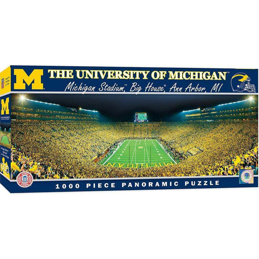 The University of Michigan 1000pc Pano Puzzle