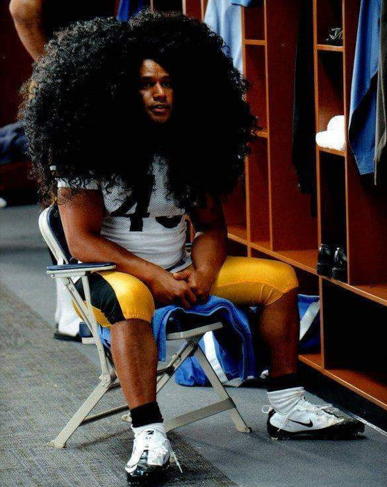 Troy Polamalu Head & Shoulders Unsigned 8x10 Photo