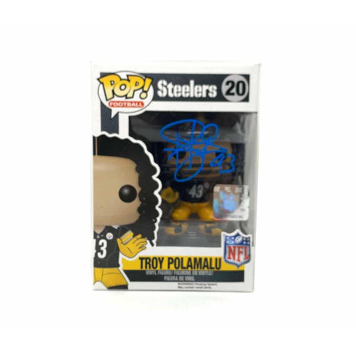Troy Polamalu Signed Funko Pop