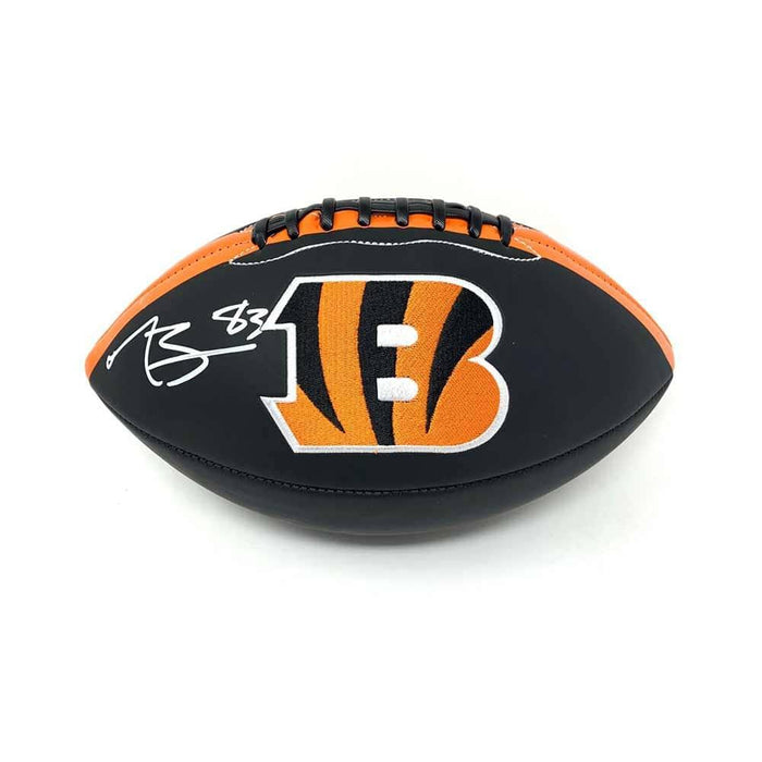 Tyler Boyd Signed Bengals Black Logo Football