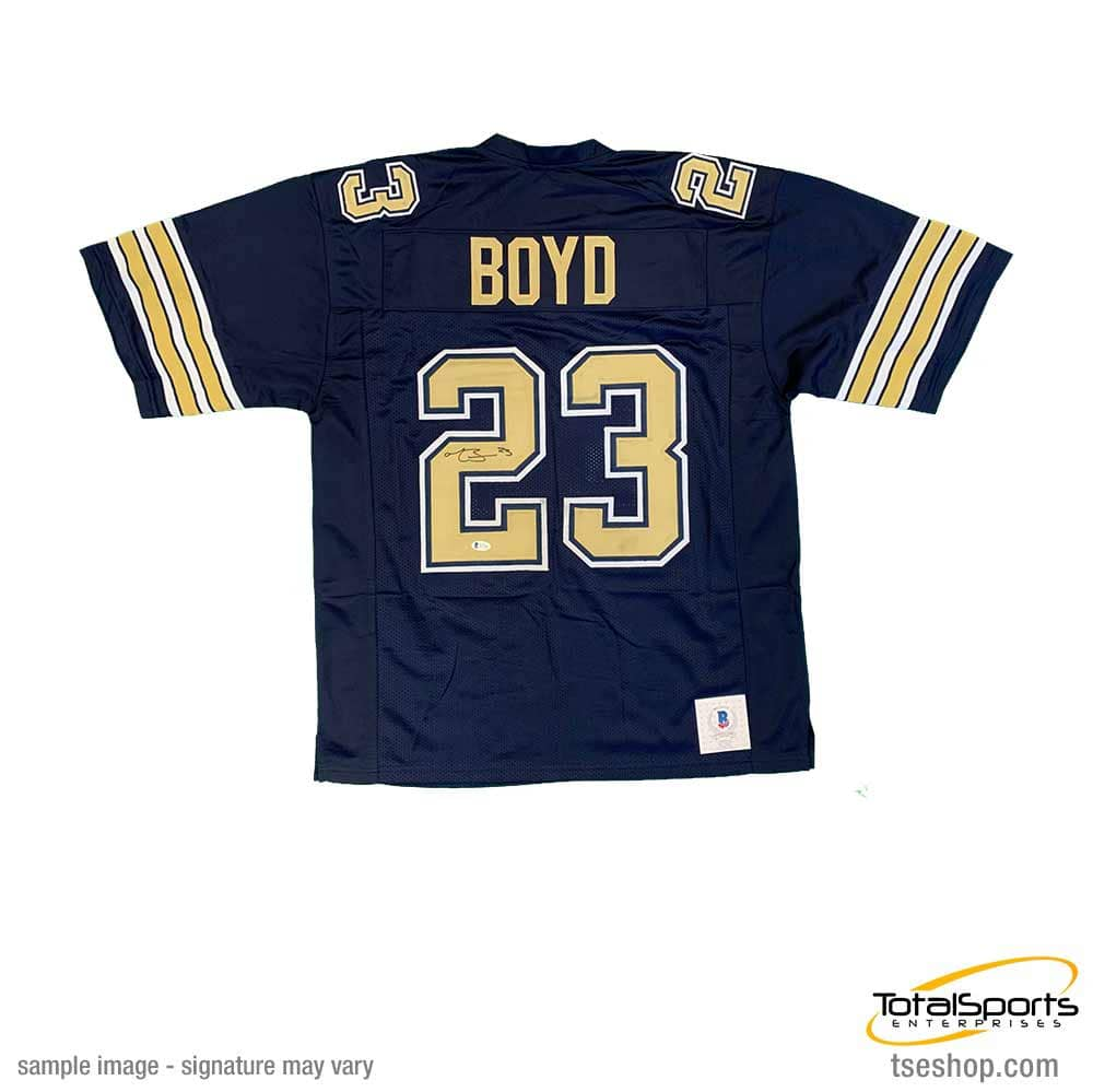 Tyler Boyd Signed Navy College Football Jersey