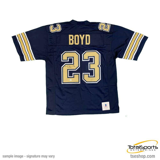 Tyler Boyd Signed Navy Colllege Football Jersey