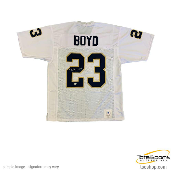 Tyler Boyd Signed White College Football Jersey