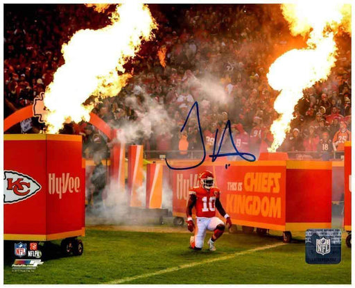 Tyreek Hill Signed FIRE! 8x10 Photo