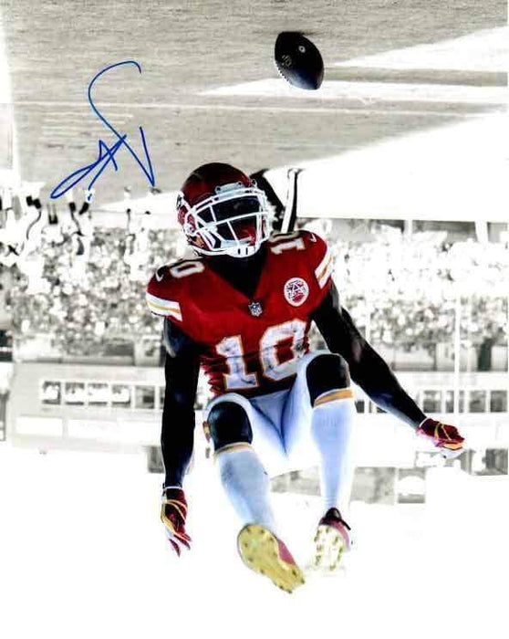 Tyreek Hill Signed Spotlight Flip Vertical 16x20 Photo
