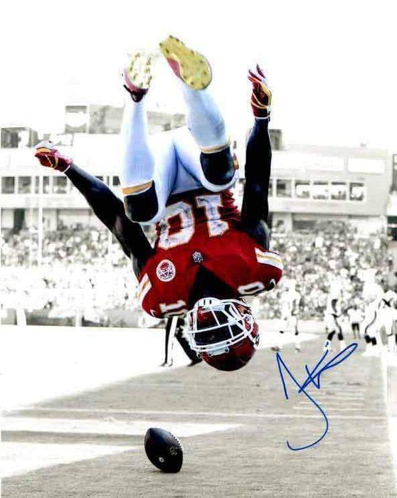 Tyreek Hill Signed Spotlight Flip Vertical 8x10 Photo