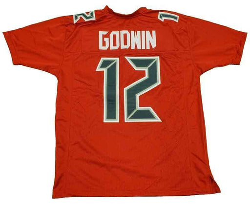 Unsigned Chris Godwin Tampa All Red Custom Stitched Football Jersey Size XL New No Brands/Logos