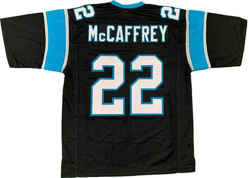 Unsigned Christian McCaffrey Black Carolina Custom Stitched Football Jersey Size XL New No Brands/Logos