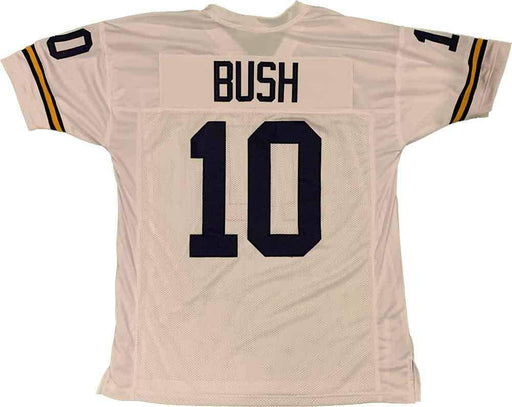 Unsigned Devin Bush Michigan White Custom Stitched Football Jersey Size XL New No Brands/Logos