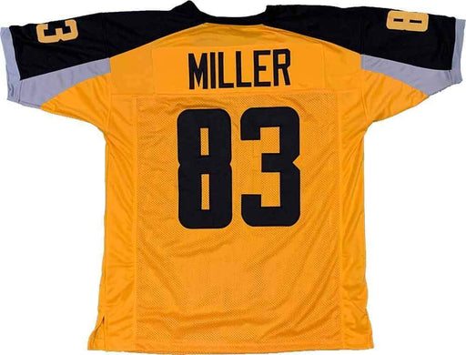 Unsigned Heath Miller Gotham Gold Custom Stitched Football Jersey Size XL New No Brands/Logos