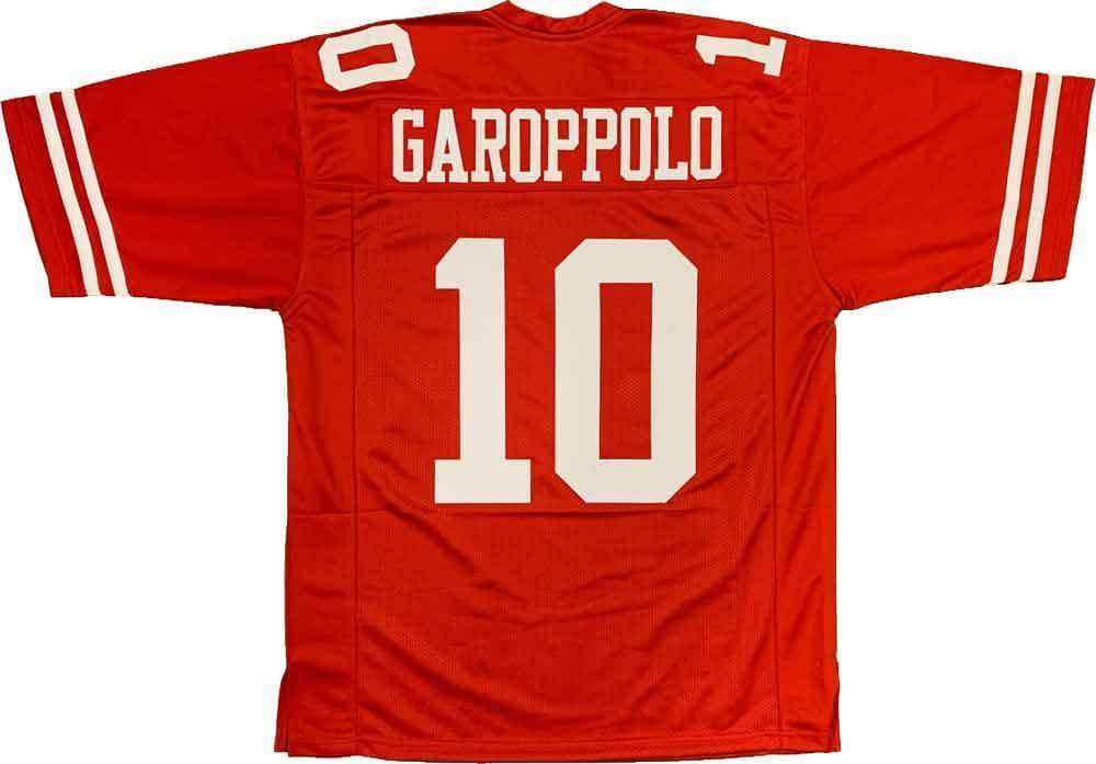 Unsigned Jimmy Garoppolo San Francisco Red Custom Stitched Football Jersey Size XL New No Brands/Logos