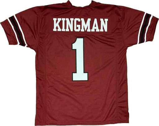 Unsigned Joe Kingman (Dwayne Johnson) The Game Plan Maroon Custom Stitched Football Jersey Size XL New No Brands/Logos