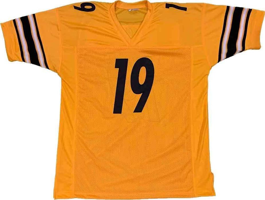 Unsigned JuJu Smith-Schuster Pittsburgh Reverse Custom Stitched Football Jersey Size XL New No Brands/Logos