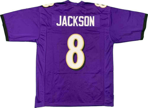 Unsigned Lamar Jackson Baltimore Purple Custom Stitched Football Jersey Size XL New No Brands/Logos